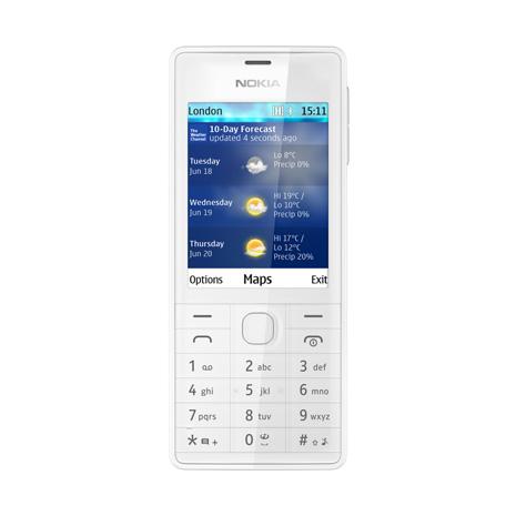 Nokia 515 dual-SIM cámara de 5 MP color blanco