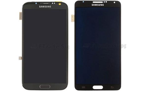Samsung Galaxy Note III pantalla comparada con la del Note II