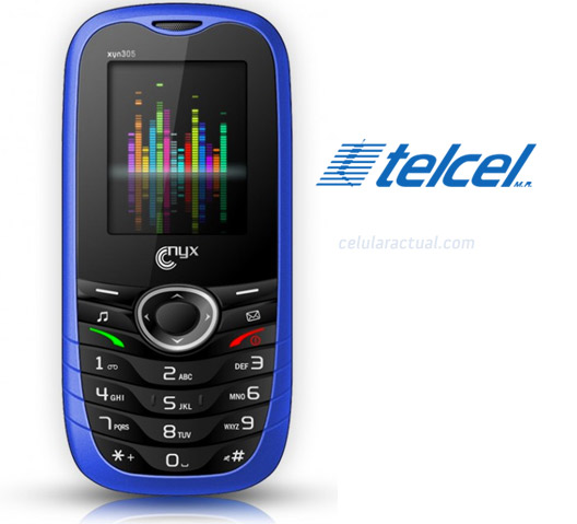 Nyx Xyn305 en México con Telcel