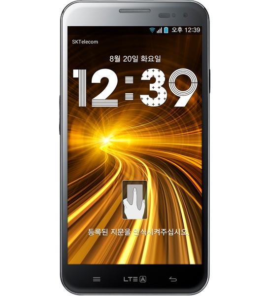 Pantech Vega LTE-A con reconocimiento de huella y 5.6″ HD es anunciado en Corea