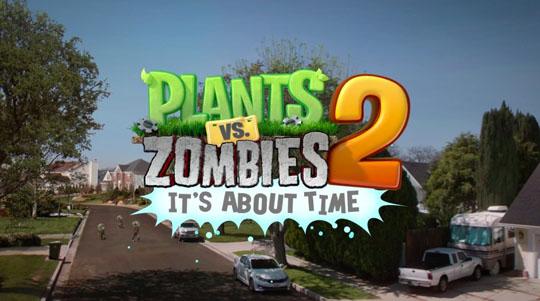 App Plants vs. Zombies 2