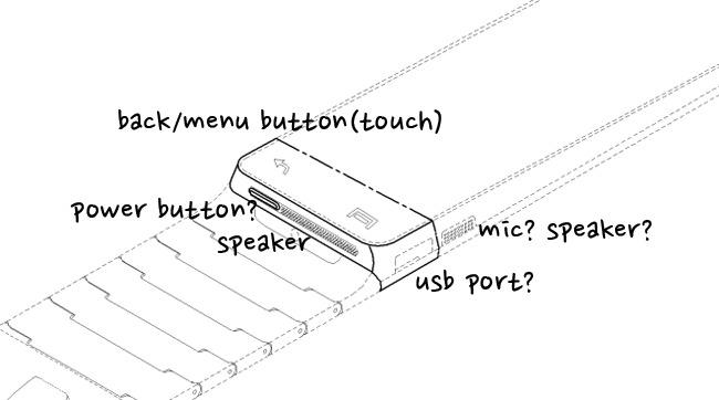 Samsung Galaxy Gear patente prototipo
