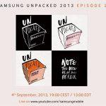 Samsung anuncia evento el 4 de septiembre: desvelará el Galaxy Note III