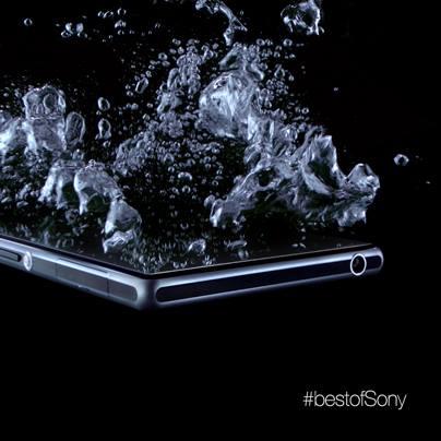 Sony Honami Negro Teaser resistencia al agua