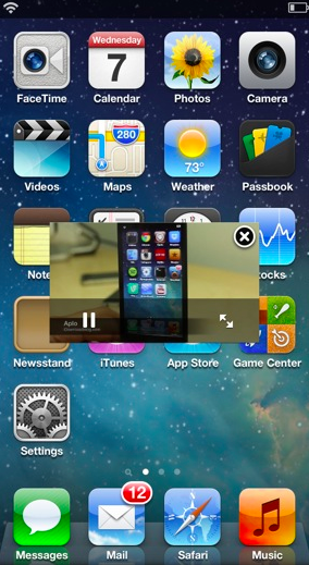 VideoPane para iPhone