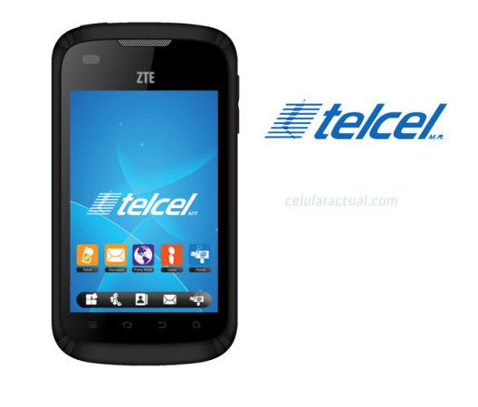 ZTE V793  T20 en México con Telcel pantalla