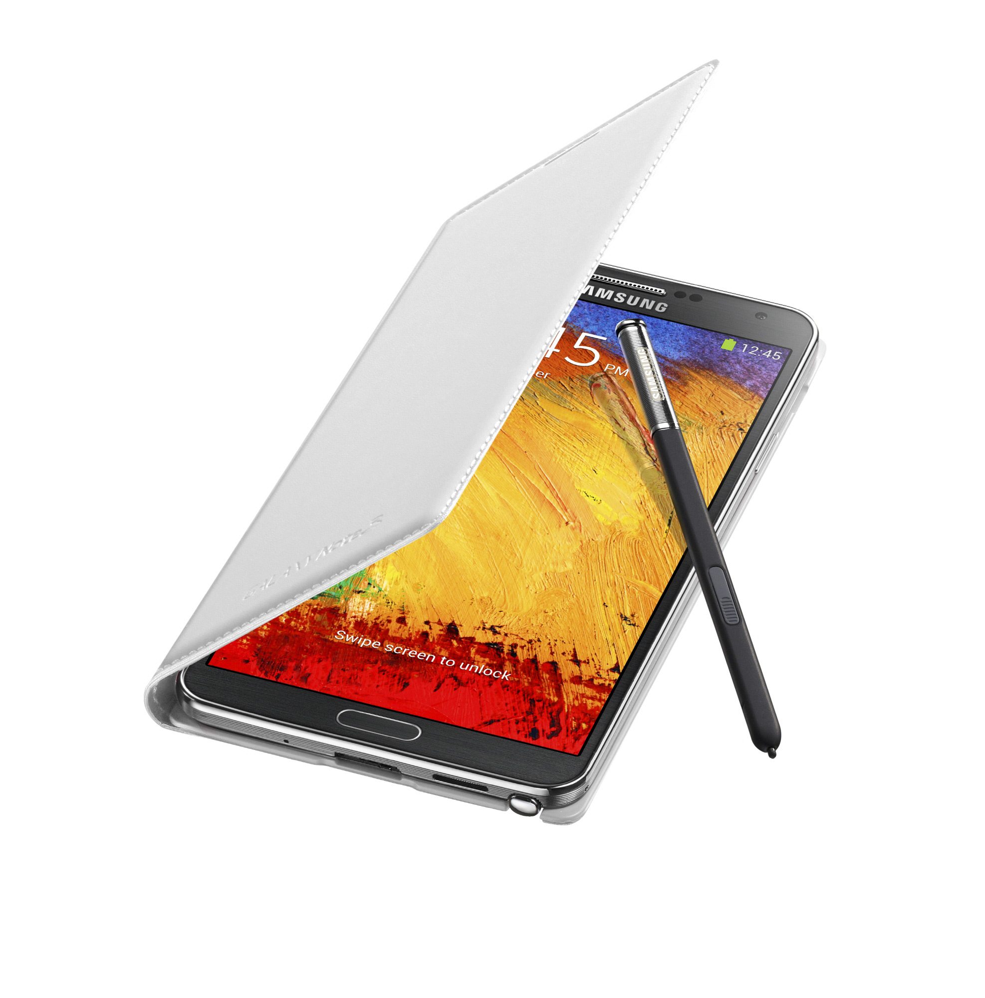 Samsung Galaxy Note 3 Flip blanco
