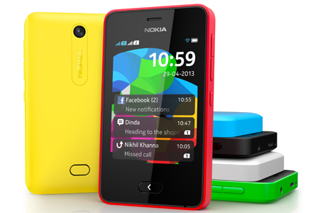 Nokia Asha 501 en México colores