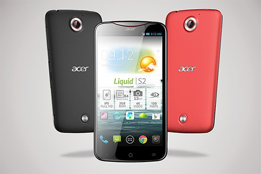 Acer Liquid S2 phablet con cámara de 13 MP video 4K