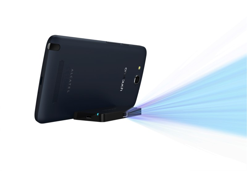Alcatel One Touch Hero pico proyector