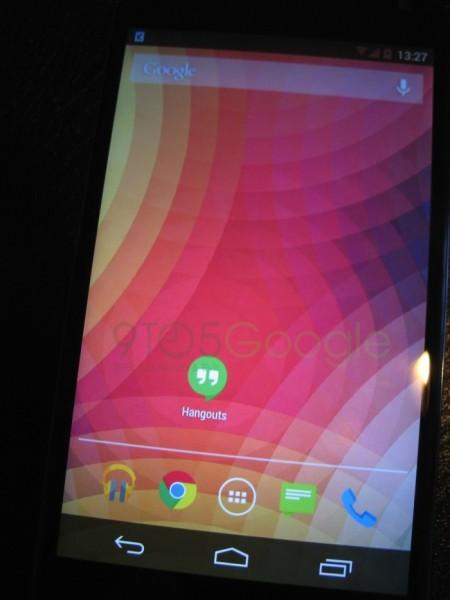 Imágenes de Android 4.4 KitKat en Nexus 4