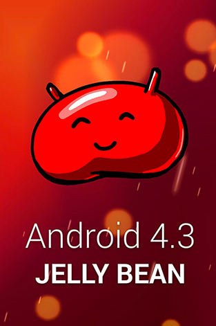 Android 4.3 Jelly Bean wallppaper