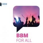 BBM disponible para Android y iPhone el 21 y 22 de septiembre