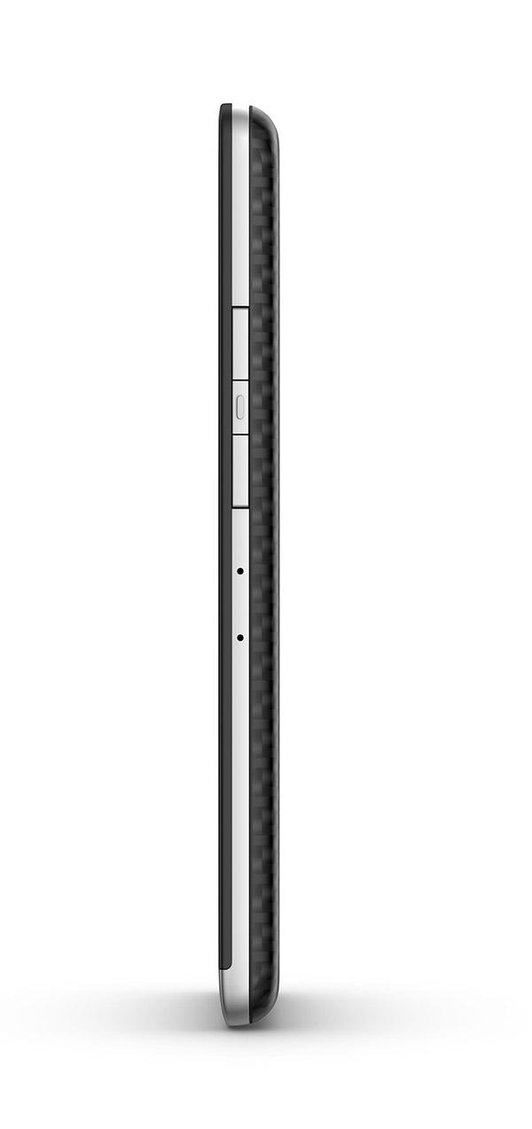 BlackBerry Z30 de lado botones