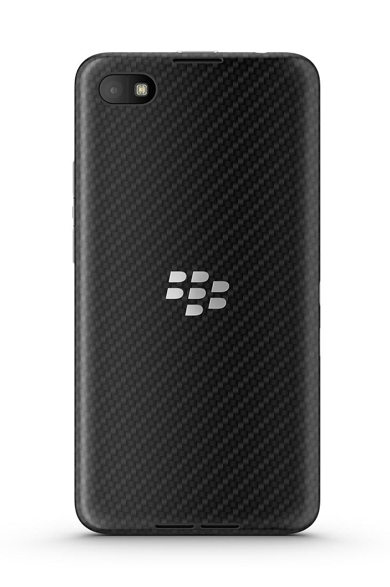 BlackBerry Z30 parte trasera cámara