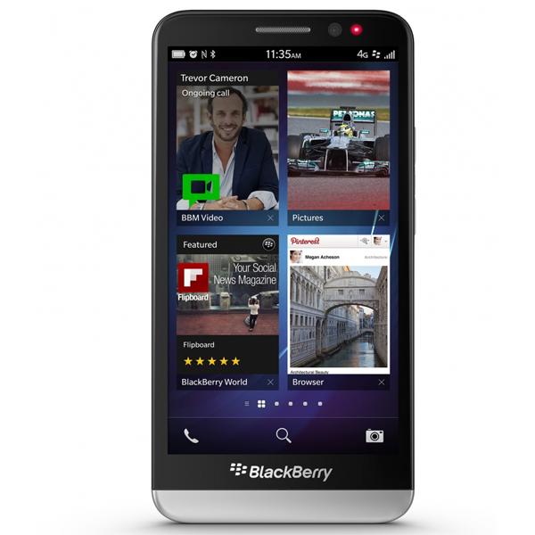"BlackBerry Z30 pantalla de 5"" HD"