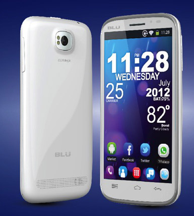Blu Studio 5.3 II en México color blanco