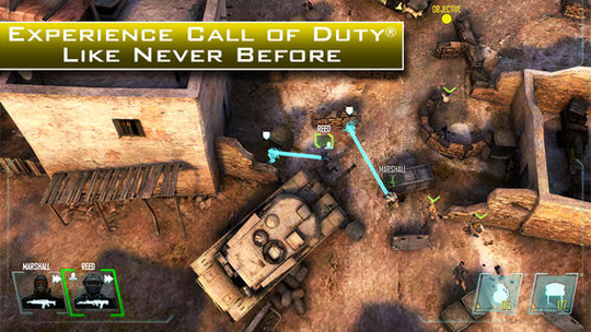 App Call of Duty: Strike Team
