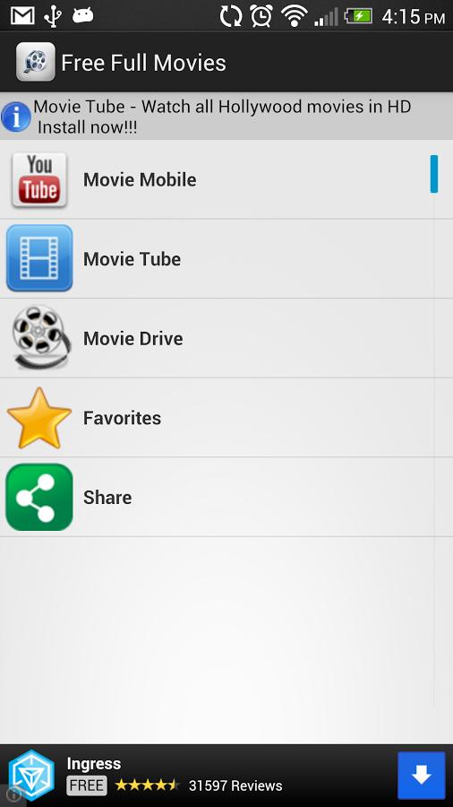 App Free Full Movies