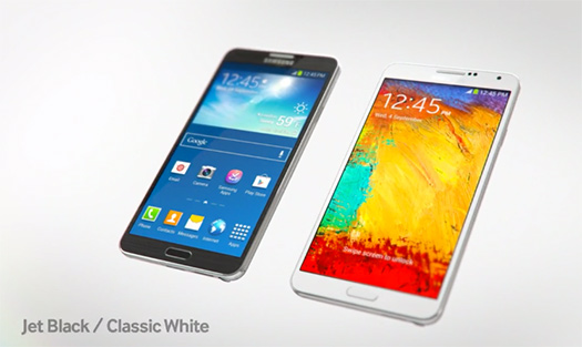 Samsung Galaxy Note 3 Video