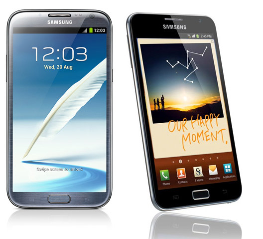 Samsung Galaxy Note I y II