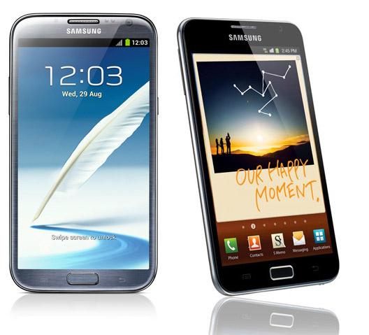Samsung Galaxy Note I y II