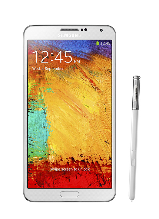 Samsung Galaxy Note 3 color blanco con nuevo S Pen