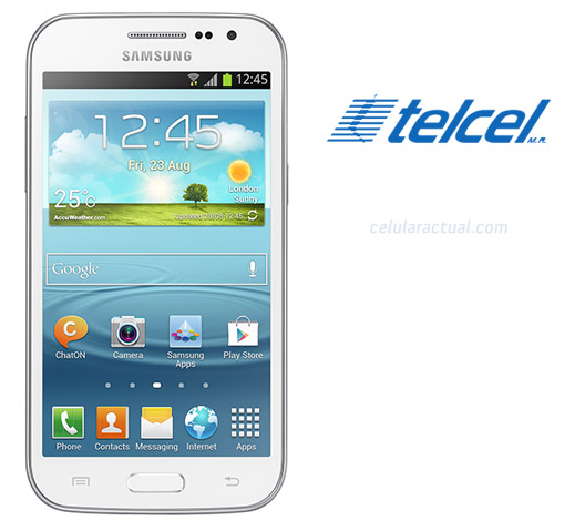 Samsung Galaxy Win en México con Telcel