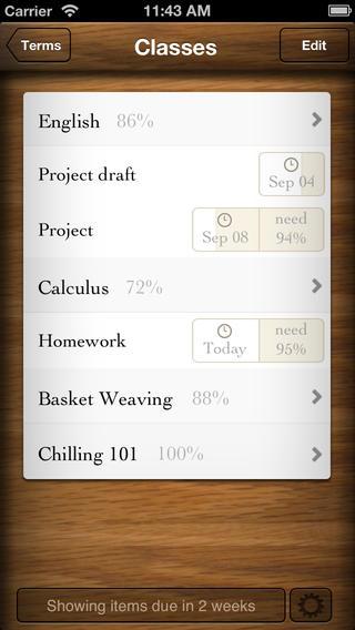 App Grades 3