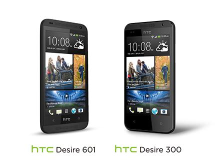 HTC Desire 601 y Desire 300