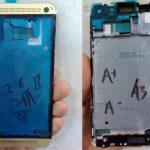 HTC One en color dorado se muestra desde china