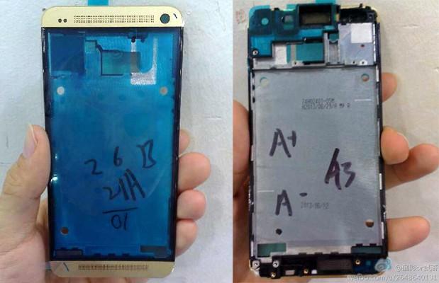 HTC One Dorado Gold