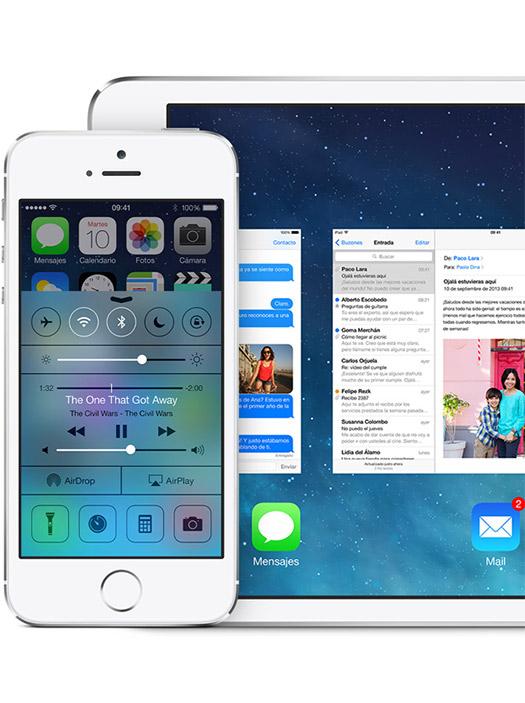 iOS 7 ya disponible en México