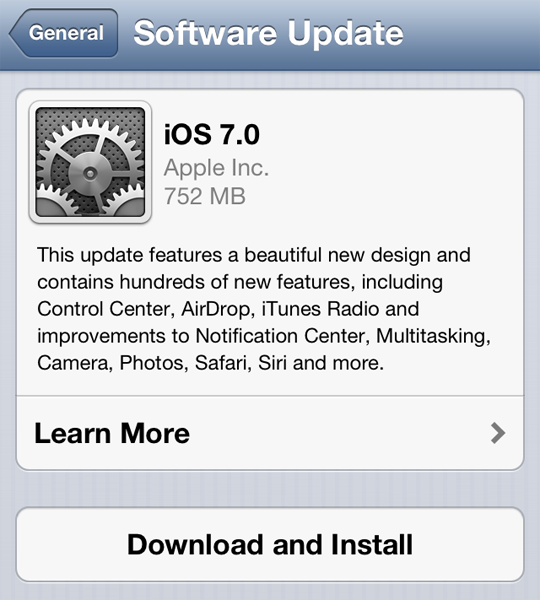 Apple deja de firmar iOS 6.1.3 y 6.1.4
