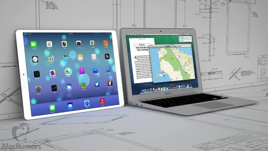 iPad de 12 pulgadas