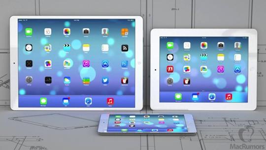 iPad rumorado