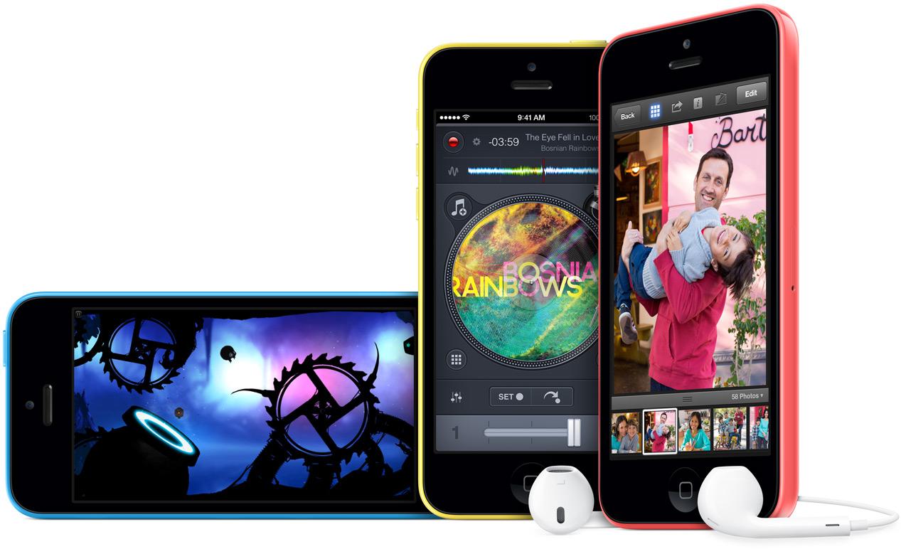 iPhone 5C de Apple