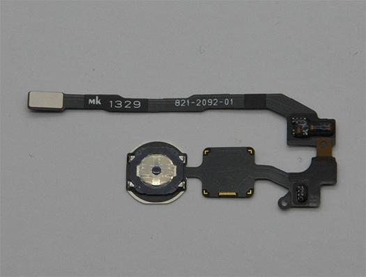 El iPhone 5S lector de huellas digitales