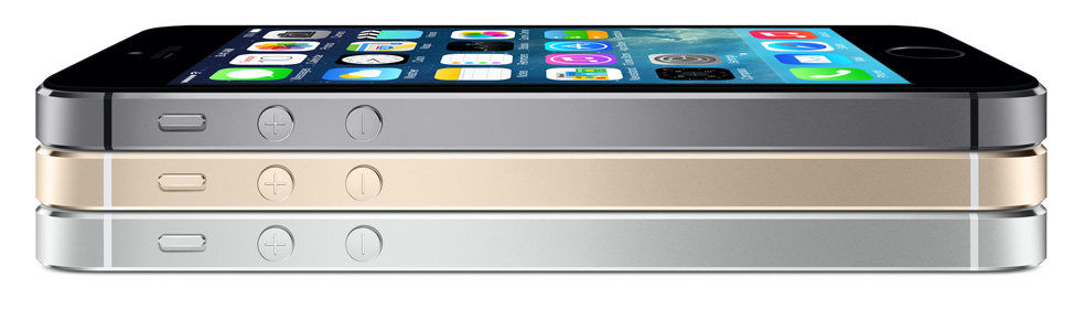 Apple iPhone 5S colores