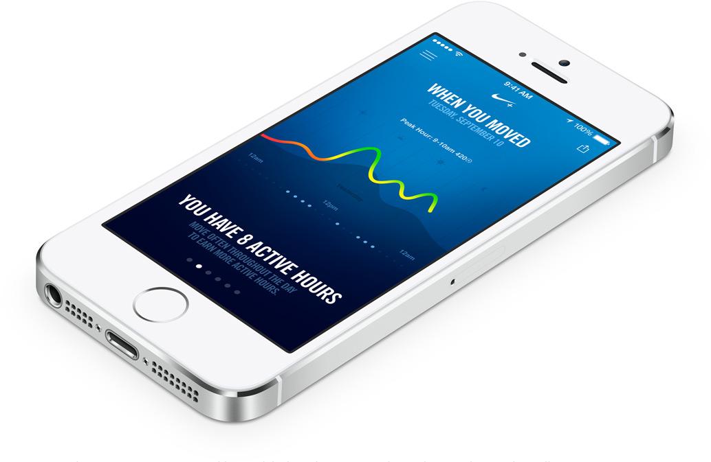 iPhone 5S de Apple color plata