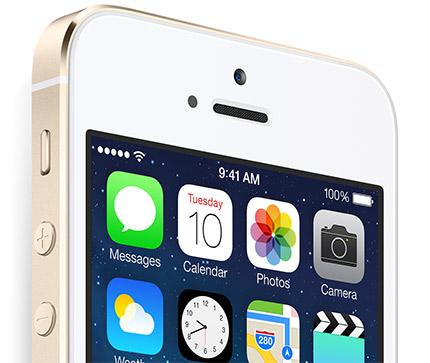 iPhone 5S oficial color dorado oro