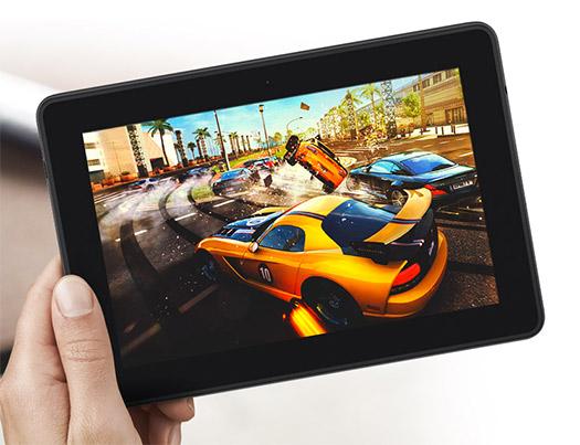 Kindle Fire HDX juegos