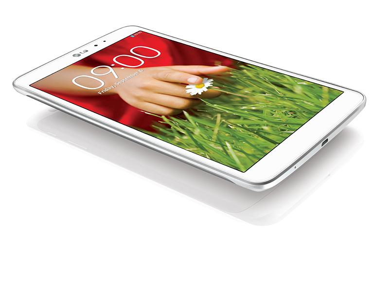 LG G Pad 8.3 color blanco pantalla Full HD