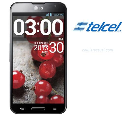 LG Optimus G Pro en México con Telcel