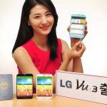 LG Vu 3 es presentado, amplia pantalla HD y Snapdragon 800