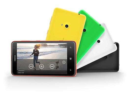 Nokia Lumia 625 pronto en México colores