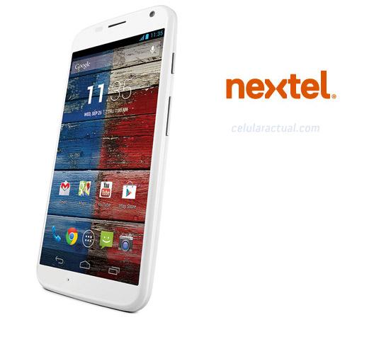 Motorola Moto X en Nextel México
