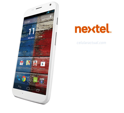 Motorola Moto X también llega a Nextel México