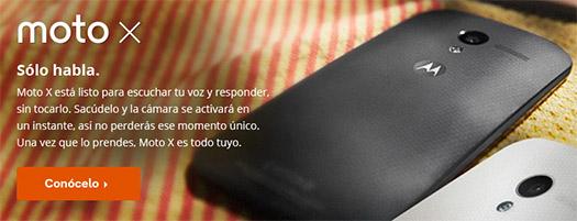 Motorola Moto X en NExtel Sólo habla Google Now te responde