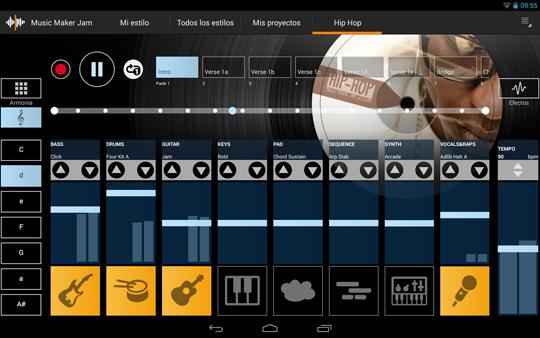 App Music Maker Jam